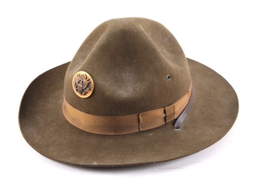 WWII M1911 US Cavalry Campaign Hat This is an orig