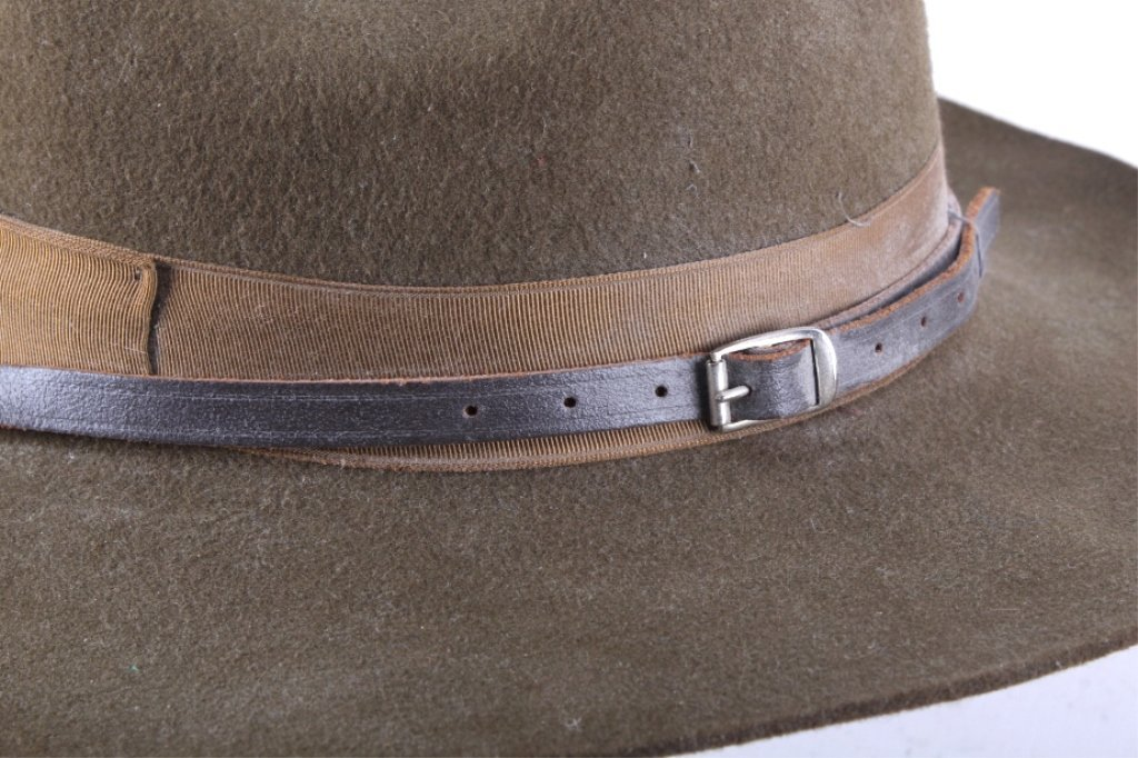 WWII M1911 US Cavalry Campaign Hat This is an orig - 4