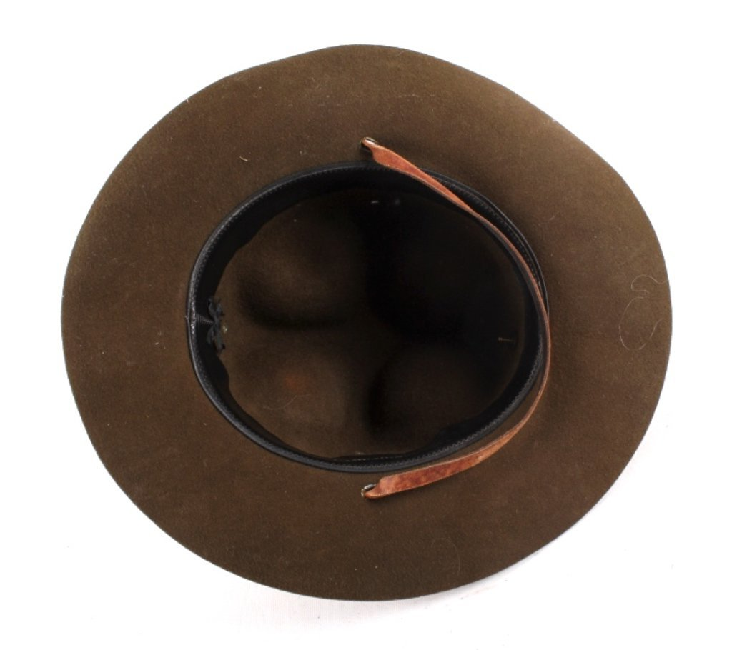 WWII M1911 US Cavalry Campaign Hat This is an orig - 6