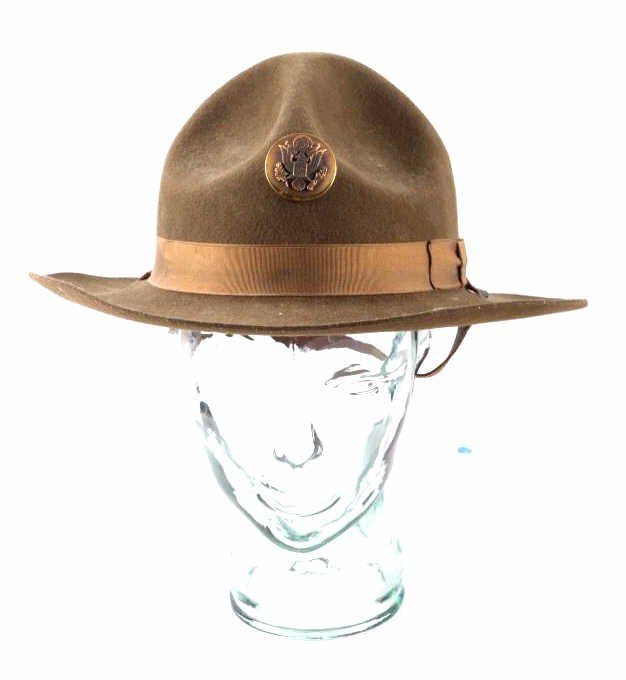 WWII M1911 US Cavalry Campaign Hat This is an orig - 8