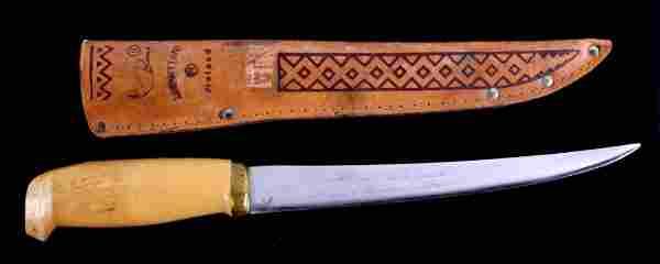 Vintage Rapala Marttiini Finland Fillet Knife This