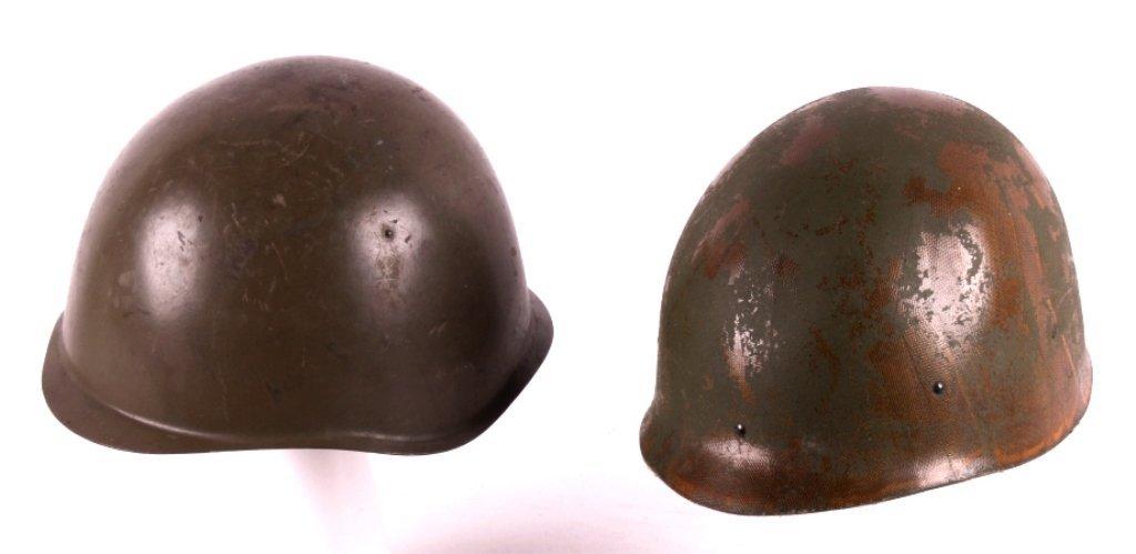 U.S. Military Helmet Liner & Russian M52 Helmet Th