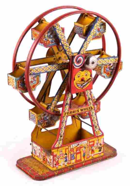 Antique Chein Wind Up Ferris Wheel This is an anti