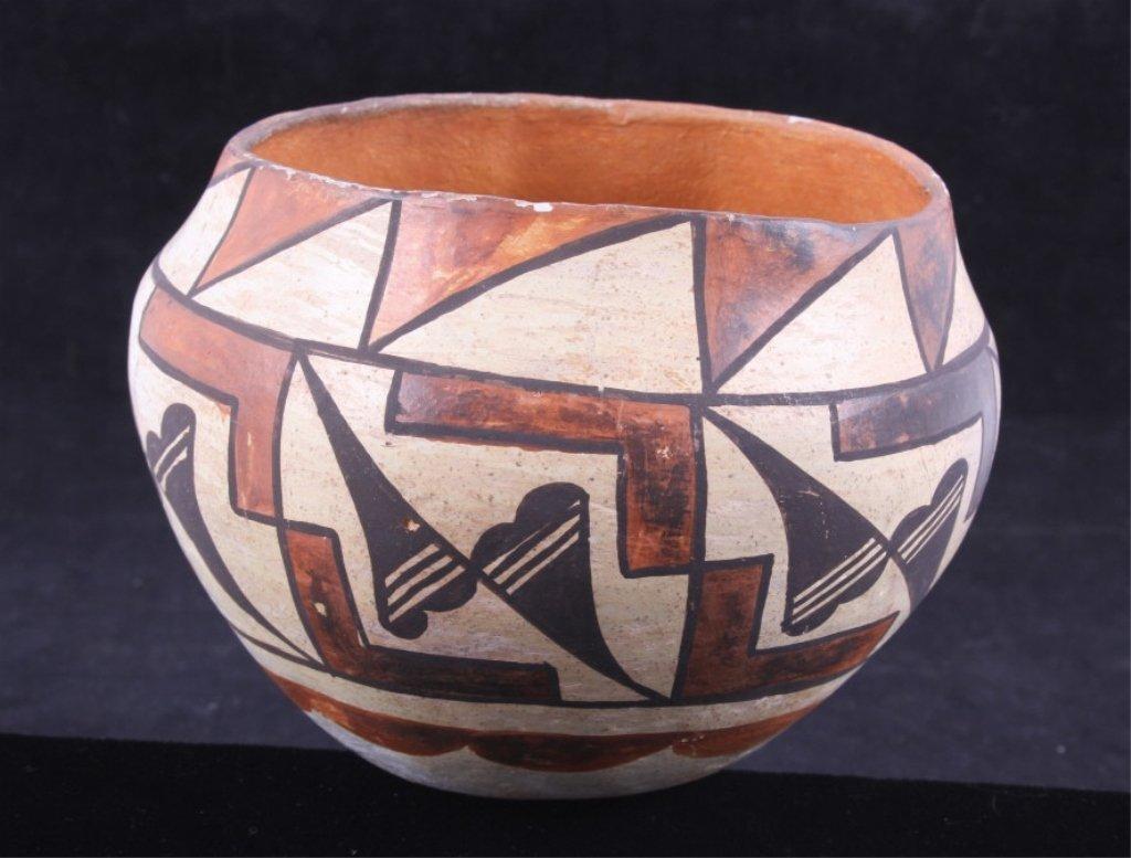 Acoma Pottery Bowl circa 1890-1920 The lot feature