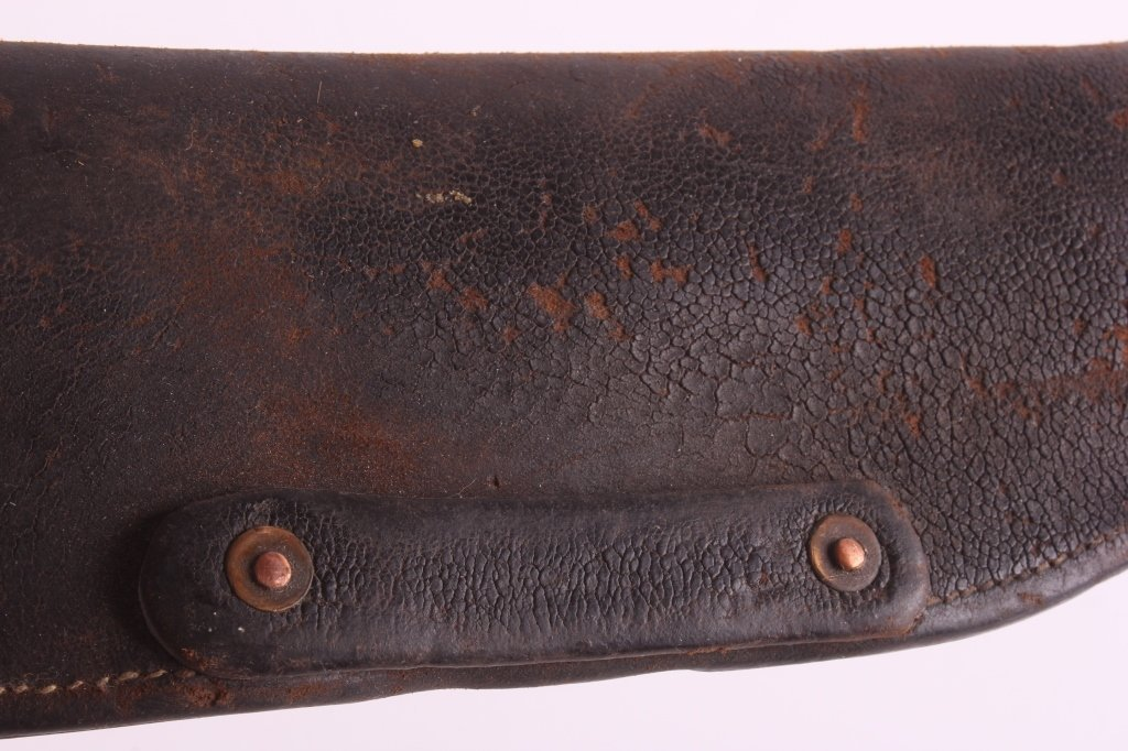 Antique Leather Lever Action Rifle Scabbard This i - 3