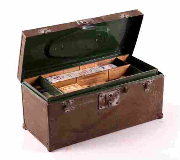 Fishing Tackle Box with Contents This is a fishing