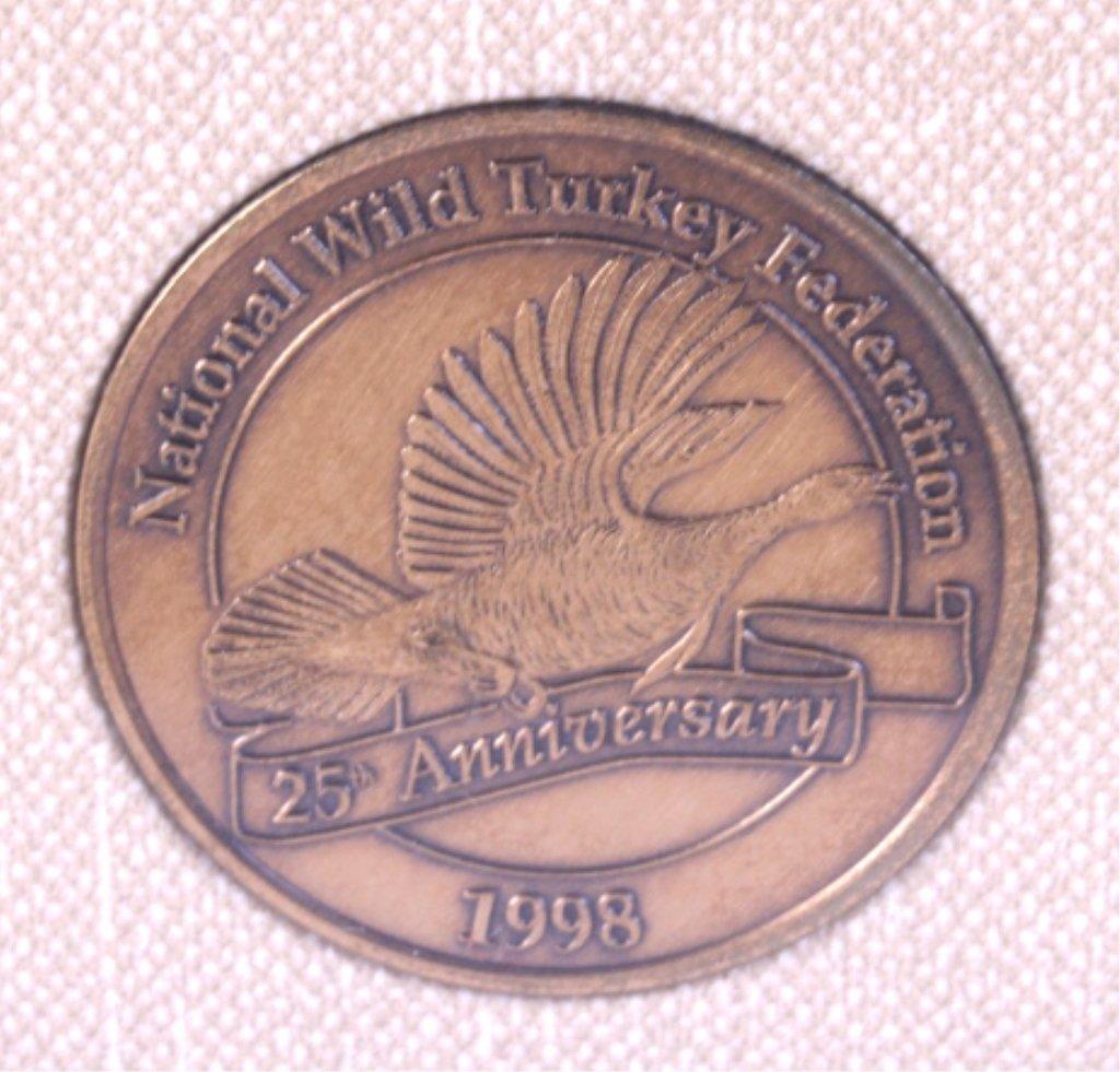 National Wild Turkey Federation Framed Print This - 4
