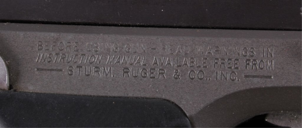 Ruger P89 9mmx19 Pistol This is a Sturm, Ruger & C - 7