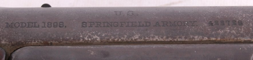U.S. Springfield Model 1898 Krag-Jorgensen Rifle - 7