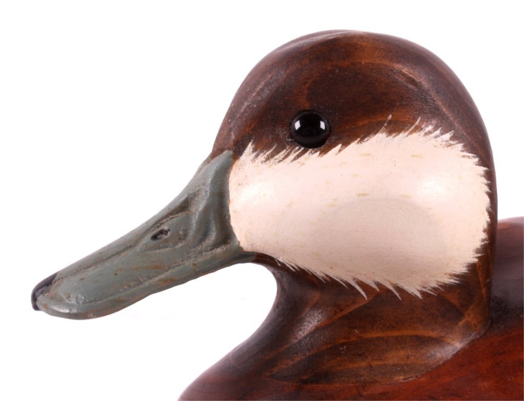 Big Sky Carvers Wooden Carved Ruddy Duck - 3