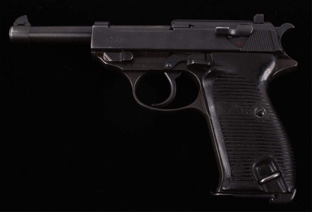 WWII Nazi Officers Walther P38 AC/42 Pistol