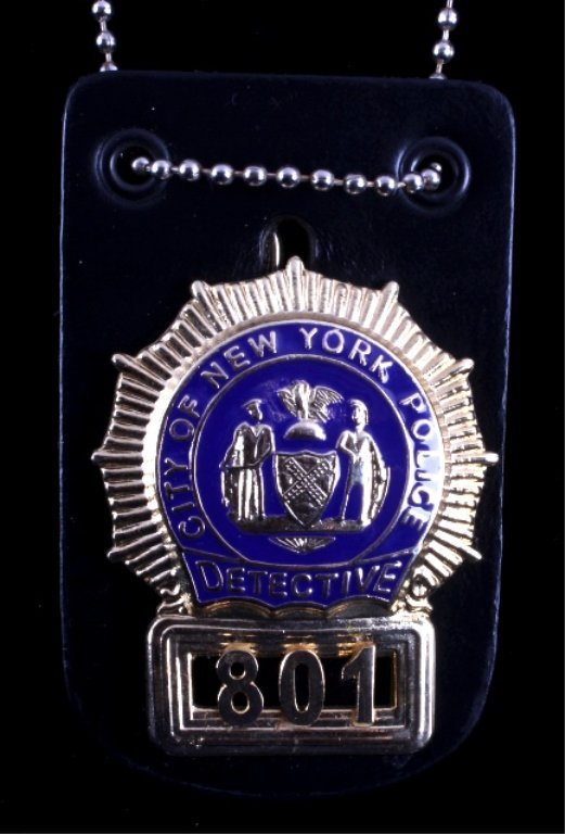 New York City Police Detective Badge