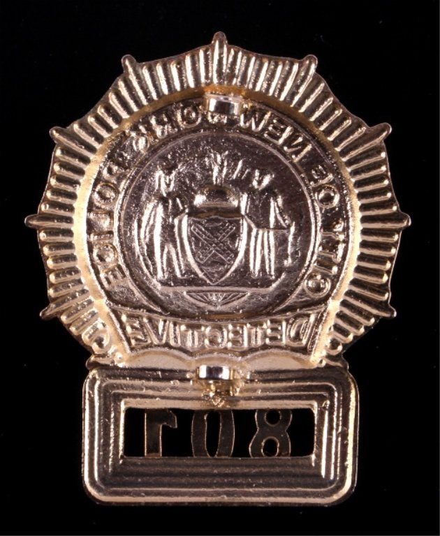 New York City Police Detective Badge - 5