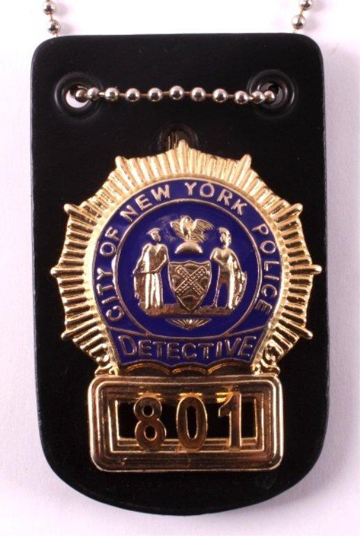 New York City Police Detective Badge - 8