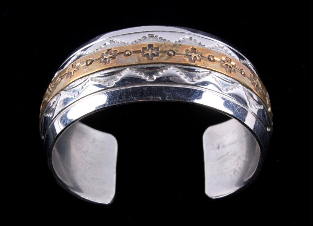 Navajo Sterling Bracelet by Thomas Francisco