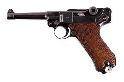 WWII Black Widow Mauser Luger byf 1942 P.08 Pistol