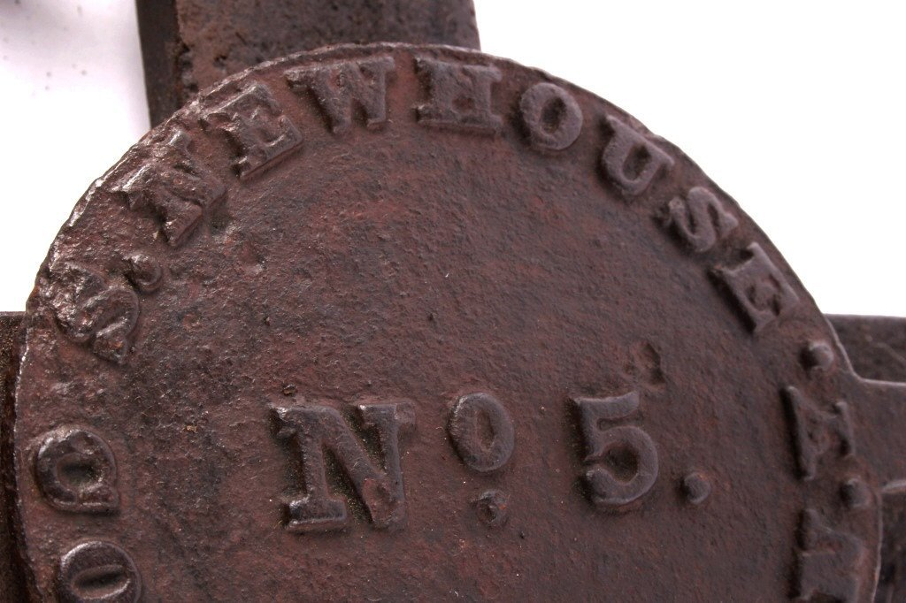 Newhouse #5 Community Bear Trap circa 1865-1888 - 6