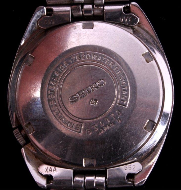 Seiko 5 Actus SS 23 Jewel Automatic Men's Watch - 4
