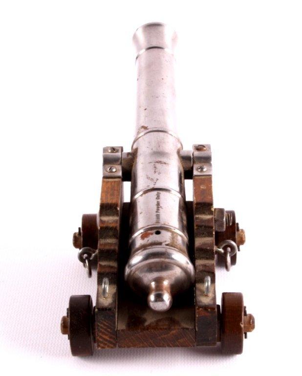 Antique Spanish Black Powder Working Signal Cannon - 7
