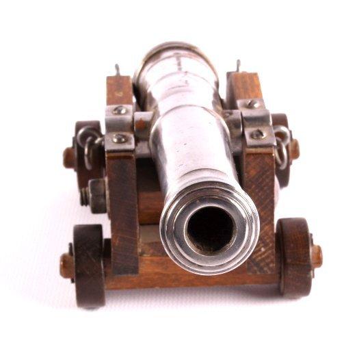 Antique Spanish Black Powder Working Signal Cannon - 9