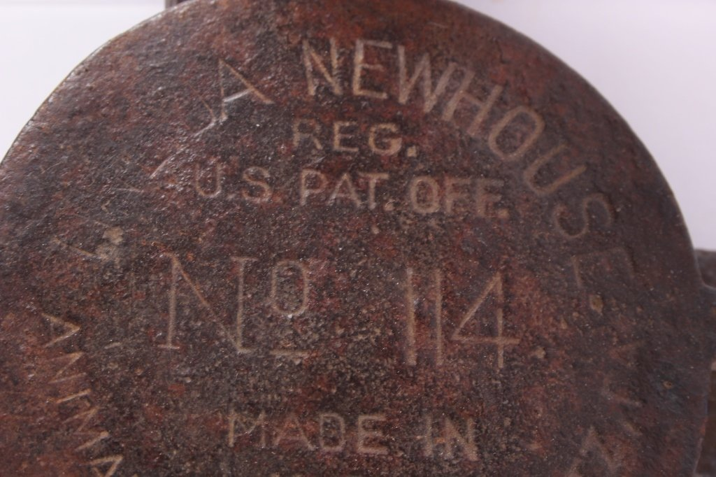Newhouse #114 Wolf Trap with Rare Teeth - 7