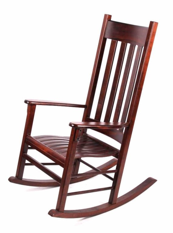 sc 1 st  LiveAuctioneers & Tyndall Creek Furniture Mission Rocking Chair