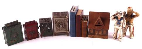 Antique Toy Coin Bank Collection
