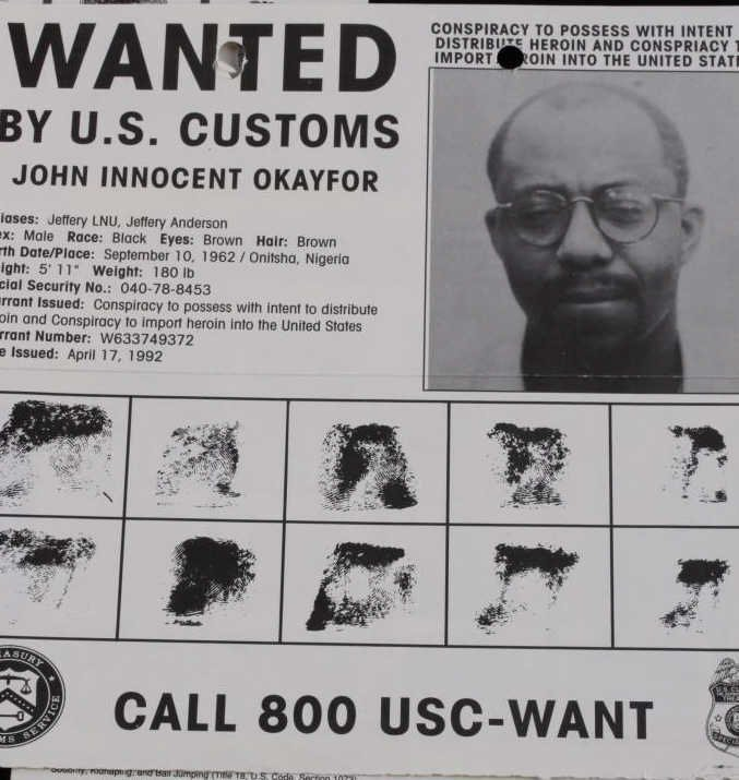 Vintage FBI Wanted Poster Collection (4) - 3