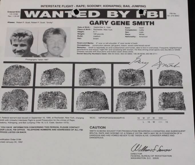 Vintage FBI Wanted Poster Collection (4) - 4