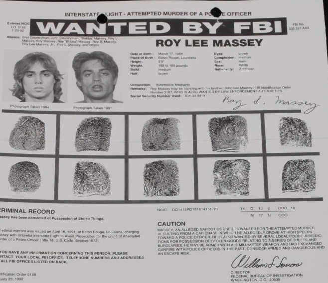 Vintage FBI Wanted Poster Collection (4) - 5