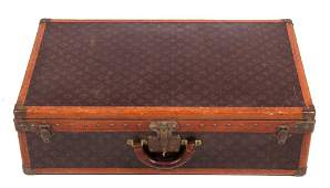 Louis Vuitton Hard-Sided Suitcase 19th Century