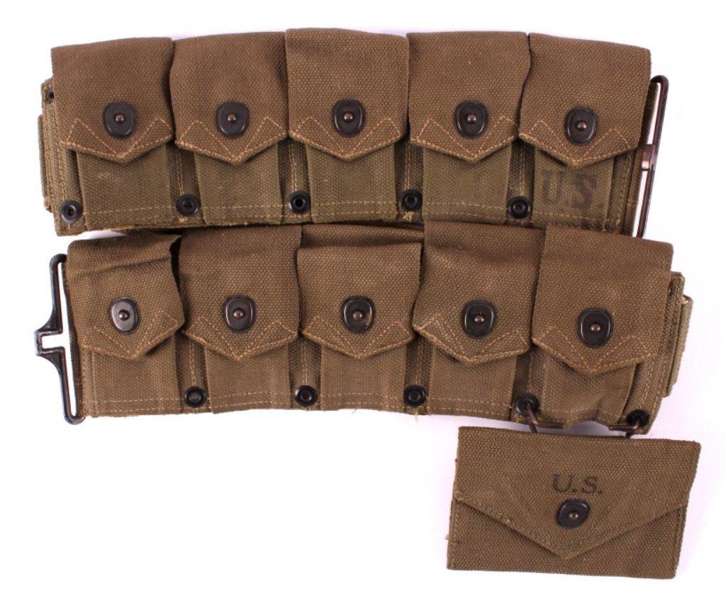 WWII M1 Garand Ammunition Belt