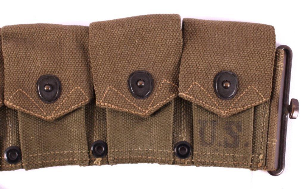 WWII M1 Garand Ammunition Belt - 2
