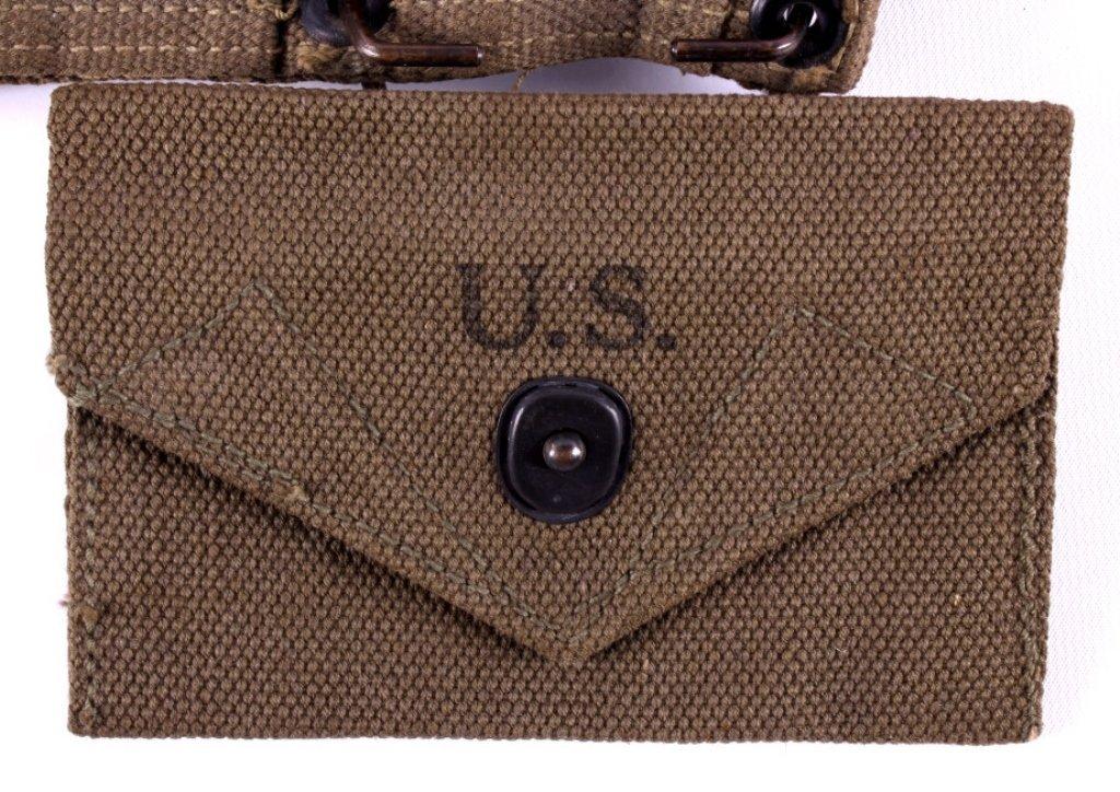 WWII M1 Garand Ammunition Belt - 3