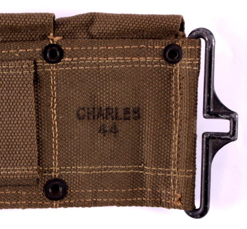 WWII M1 Garand Ammunition Belt - 4
