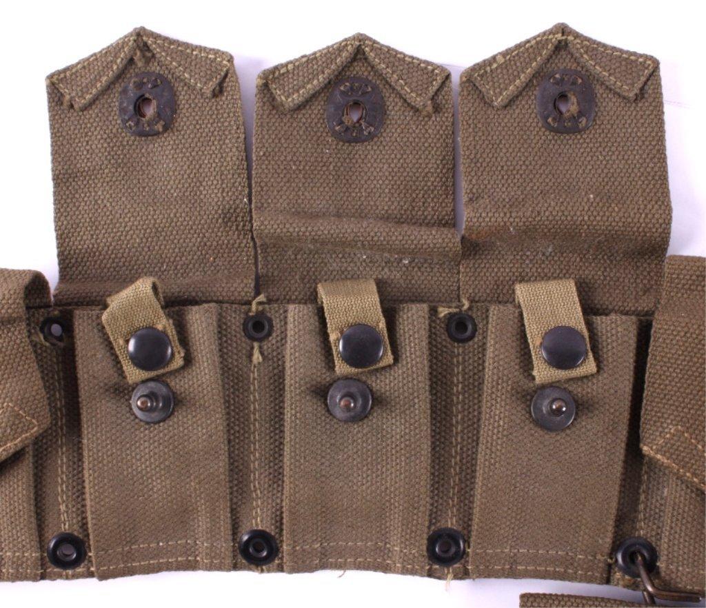 WWII M1 Garand Ammunition Belt - 6