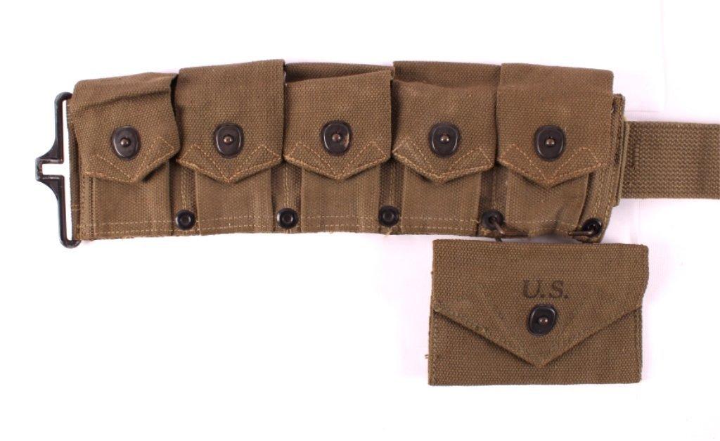 WWII M1 Garand Ammunition Belt - 7