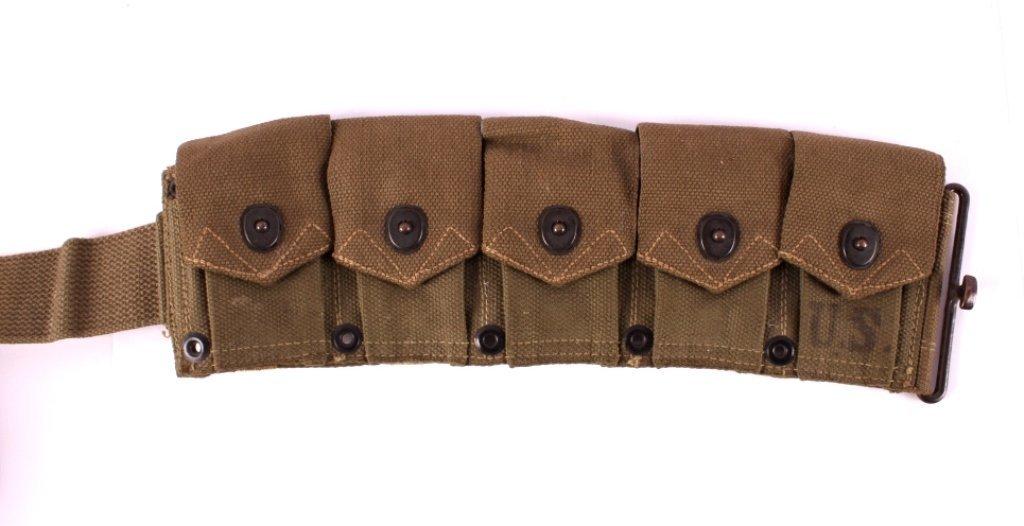 WWII M1 Garand Ammunition Belt - 8