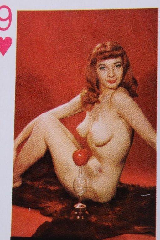 Nude Women Gambling Playing Card Sets 1930 - 10