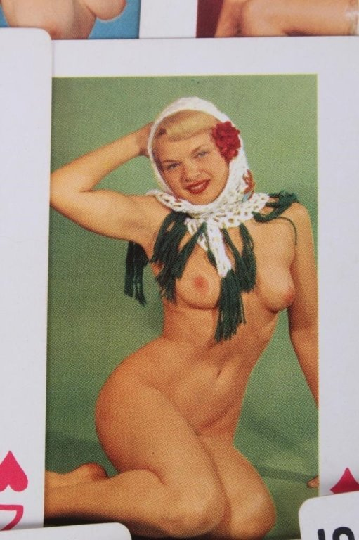 Nude Women Gambling Playing Card Sets 1930 - 4