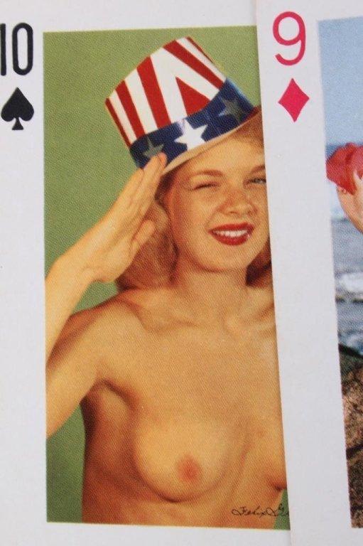 Nude Women Gambling Playing Card Sets 1930 - 7