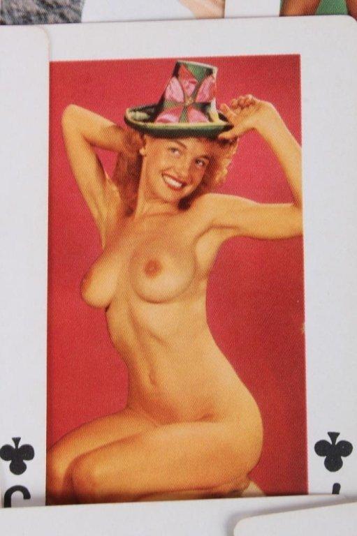Nude Women Gambling Playing Card Sets 1930 - 8
