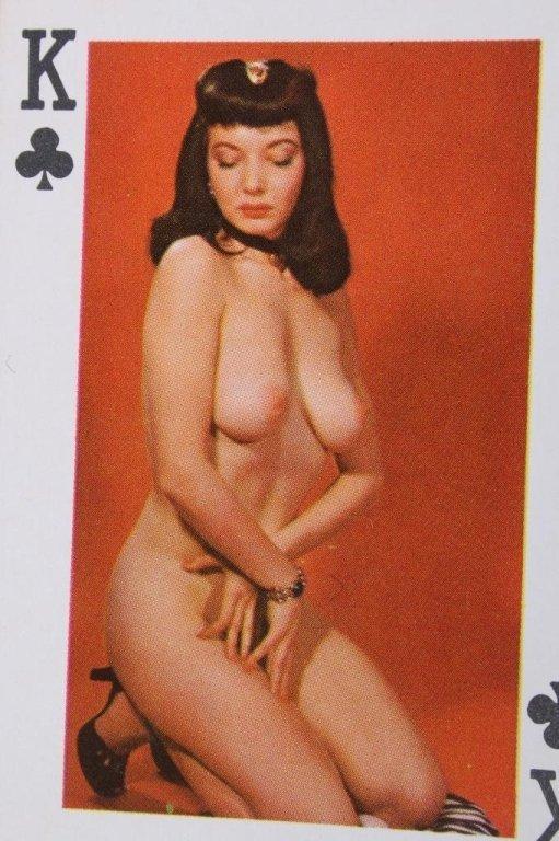 Nude Women Gambling Playing Card Sets 1930 - 9