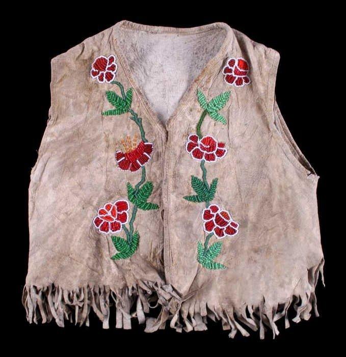 Paiute Beaded Child's Vest Early 1900