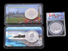 Australian Great Britain  Canadian Silver Coins
