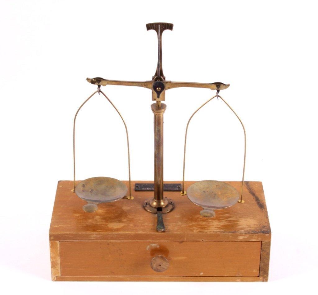 Henry Troemner Gold Rush Assayers Scale
