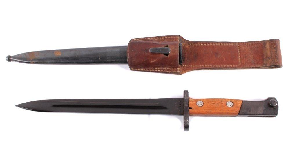 WWII Yugoslavian Mauser 44 M1948 Bayonet