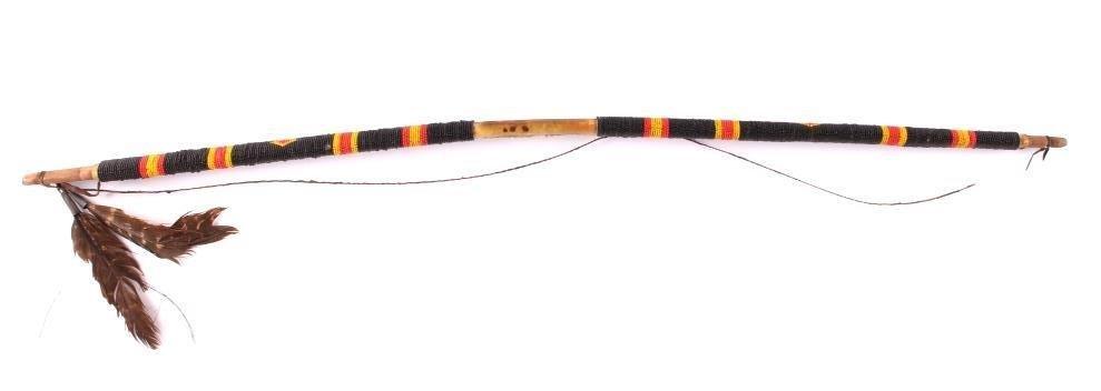 Cheyenne Black Beaded Bow circa 1890-1910