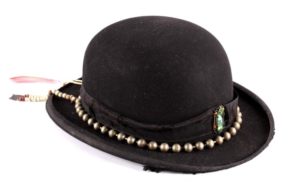 Northern Plains Bowler Hat with Silver Hat Band