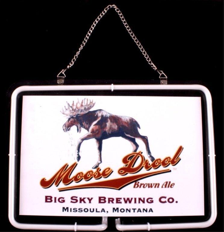Moose Drool Neon Light Big Sky Brewing Montana